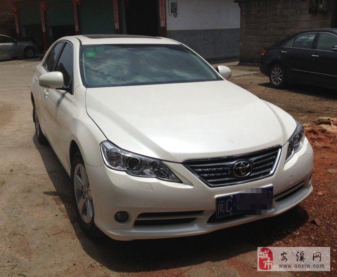 因置换新车,现转让2012年购买丰田锐志车辆