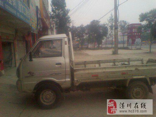 二手单排小货车一辆,黑豹柴油车