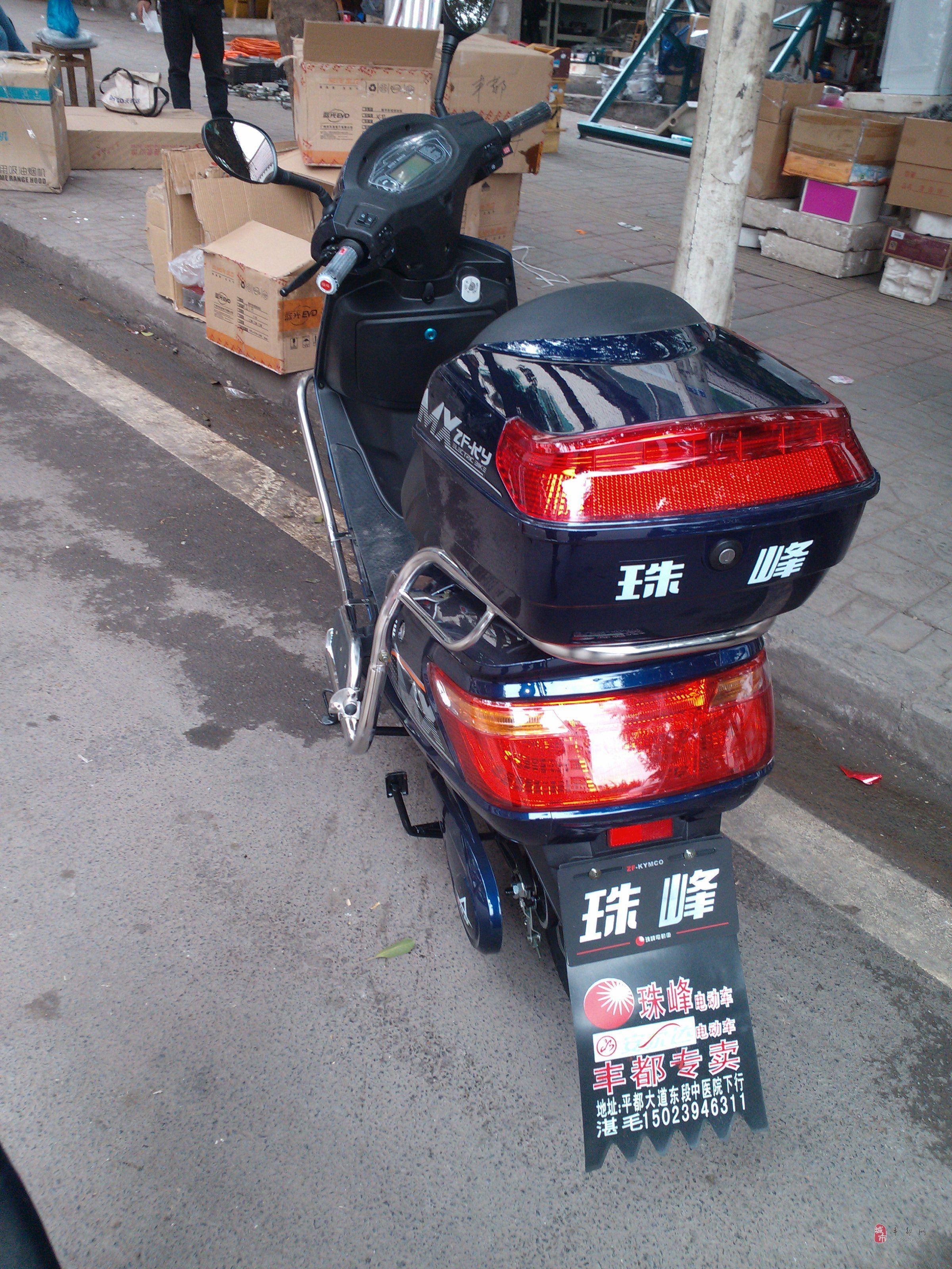 现有80v的珠峰电动车出售图片