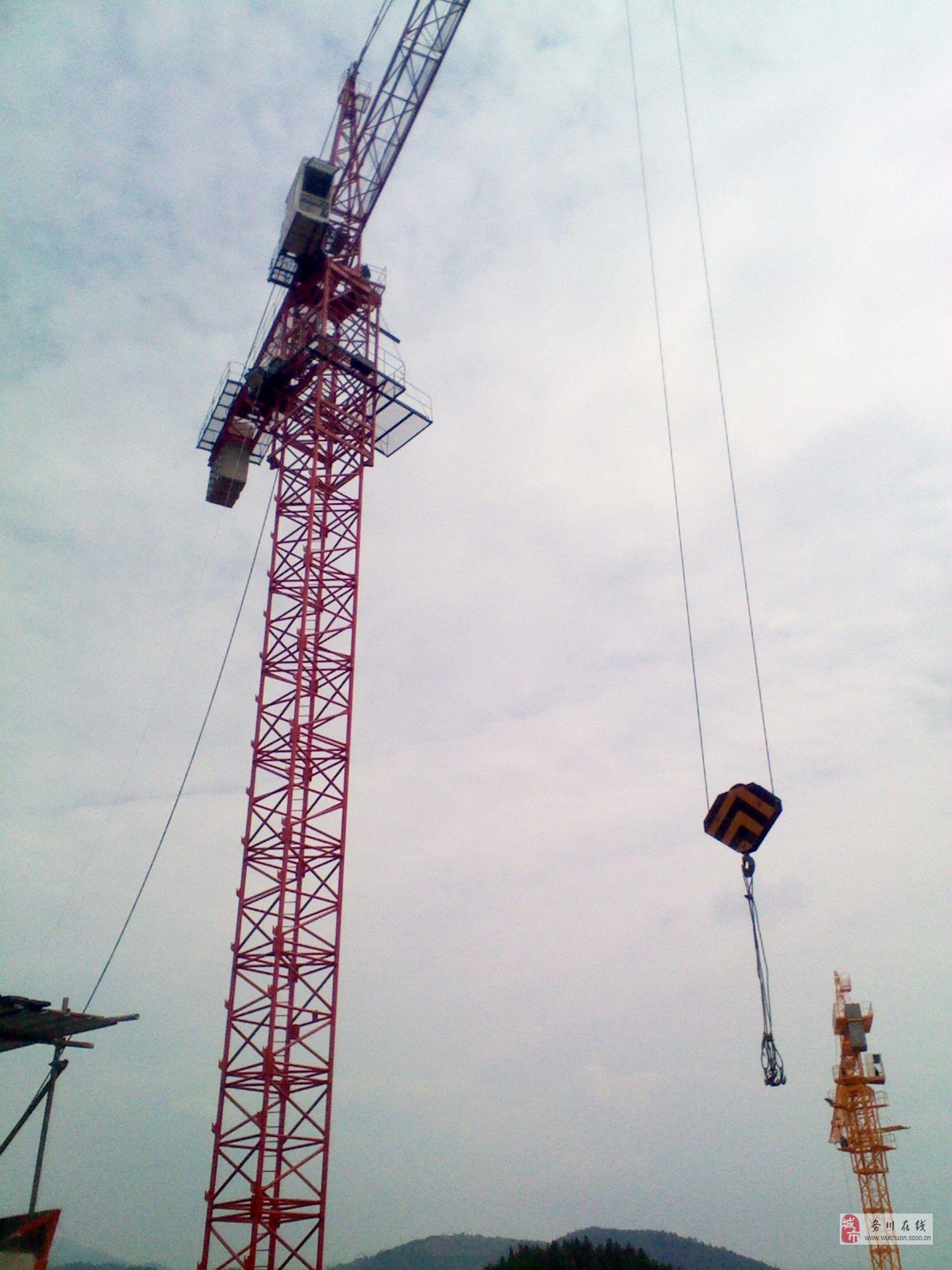 工程器械塔机塔吊出租