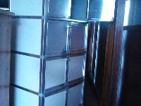 吕合金四层八门茶水柜