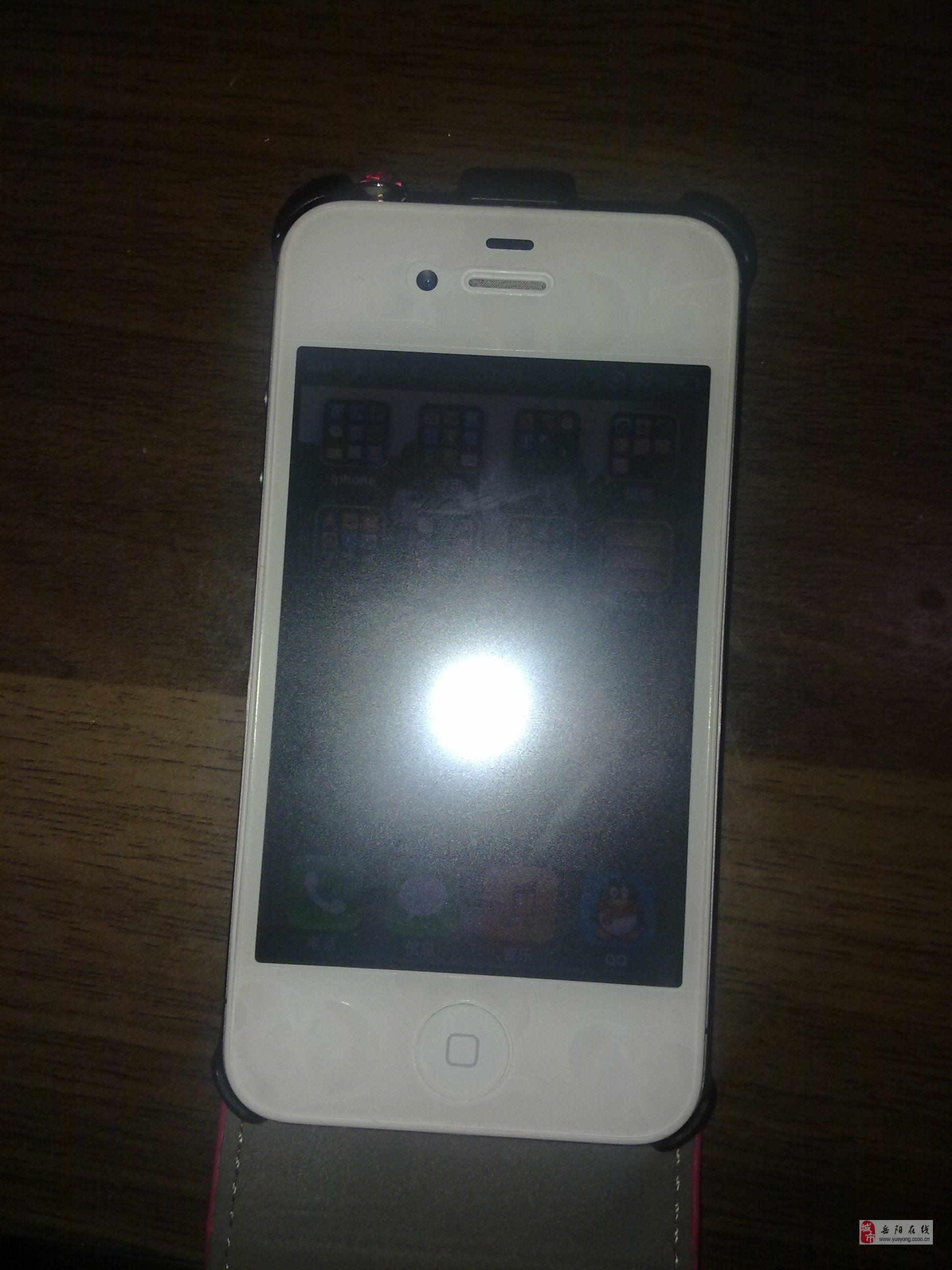自用iphone4s白色国行16g