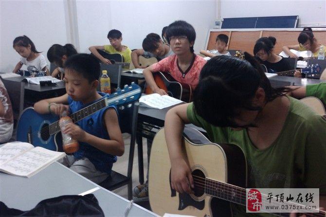 平頂山超韻 平頂山吉他培訓 暑假吉他班常年吉他班