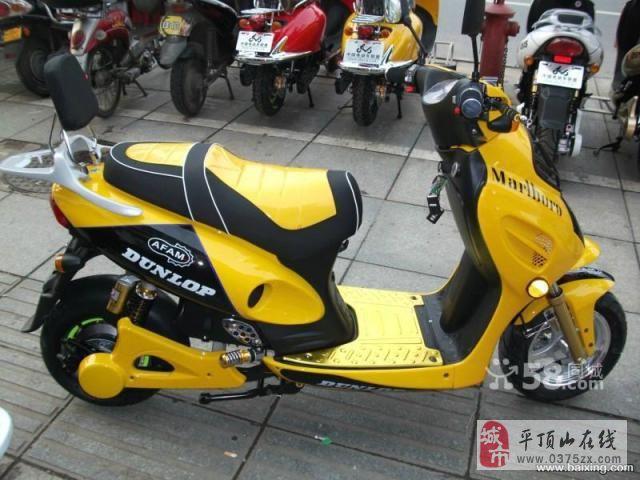 平顶山二手电动车,二手摩托车交易市场高清图片