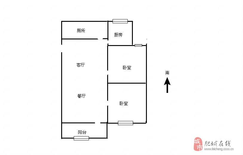 普通两间两层房设计图展示