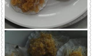 自己做的蒜蓉粉丝蒸扇贝