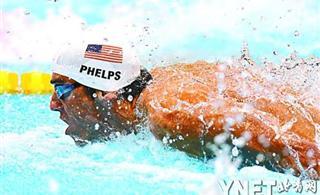 菲尔普斯强势获得三连冠 金牌晚却是激励和认可