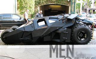 蝙蝠侠里的万人迷豪车BatMobileⅡ