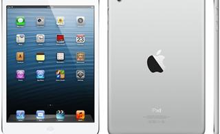 Apple iPad mini白色版图赏