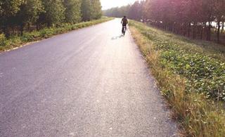 秋日的午后我们一起去骑行去
