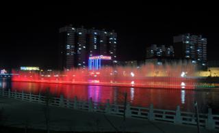 [原创]新葡京湫水河喷泉重见天日!