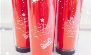 2012地下铁圣诞随行限量杯! 飞雪街地下铁港式奶茶有售