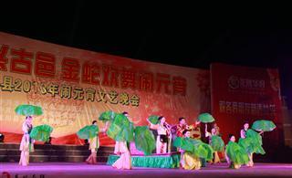 视频:龙川县2013年闹元宵文艺晚会
