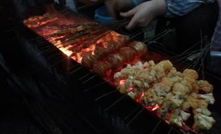 冬冬原二中烧烤—特色烤花菜、烤蛋