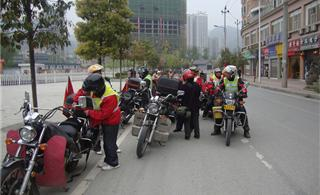 [原创]重庆夕阳红摩托车队竞赛酉阳