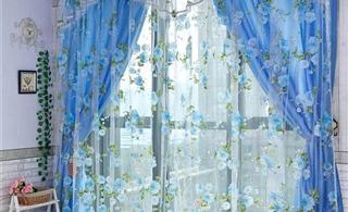 [原创]临潼雅兰布居窗帘最新款式