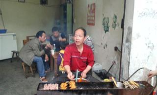 祁东老公安局烧烤―特色烤牛尾巴、烤薄豆腐