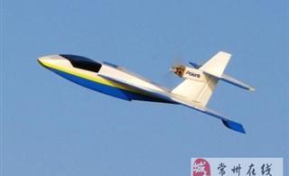 常州航模用KT板做飞机