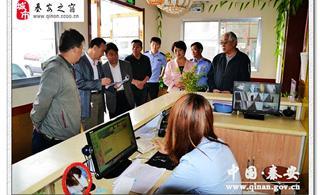 秦安:县领导督查考前环境卫生整治