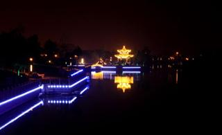 滨河新夜景实拍