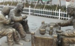【陇西印象】鼓楼广场铜像