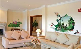 室内墙体彩绘引领进入低碳生活新时代