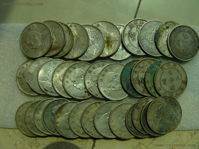 高价求购银元