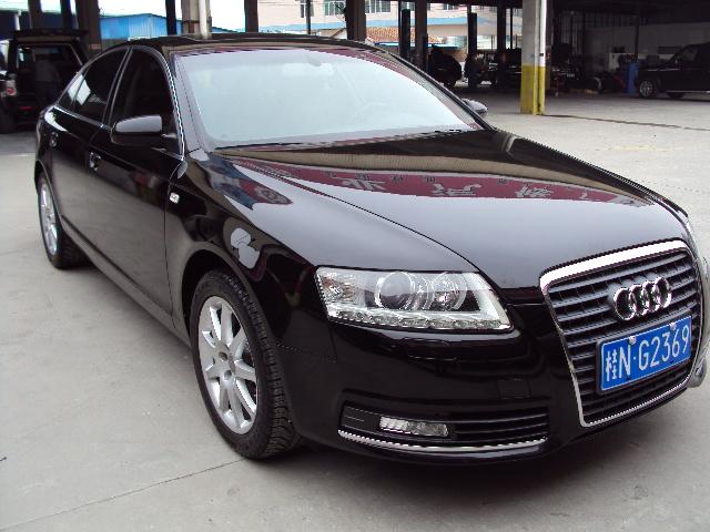 出售一辆10奥迪A6L黑色3.2排量