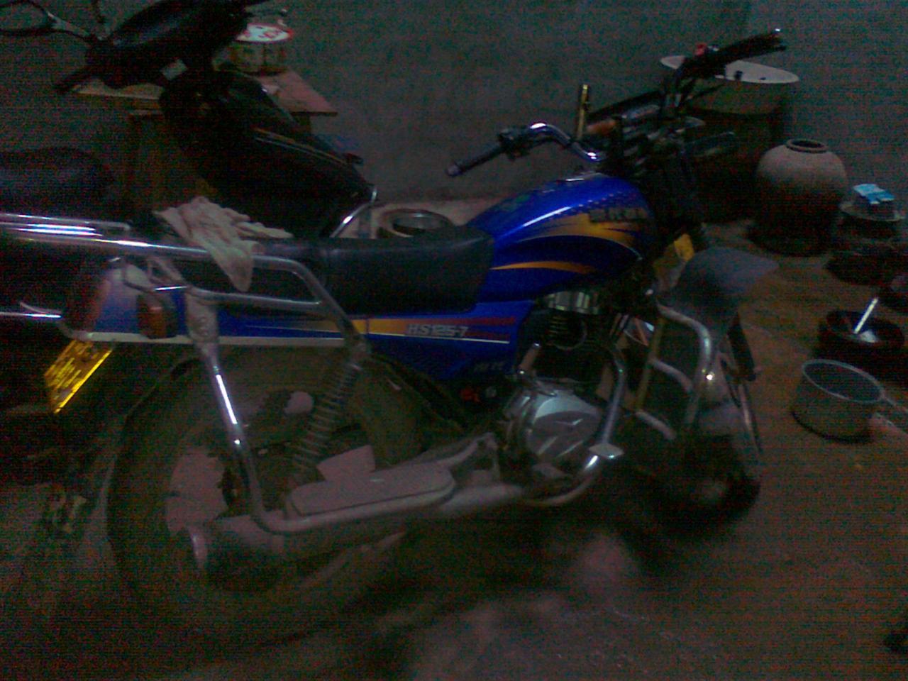 出售二手现代男士摩托车一辆