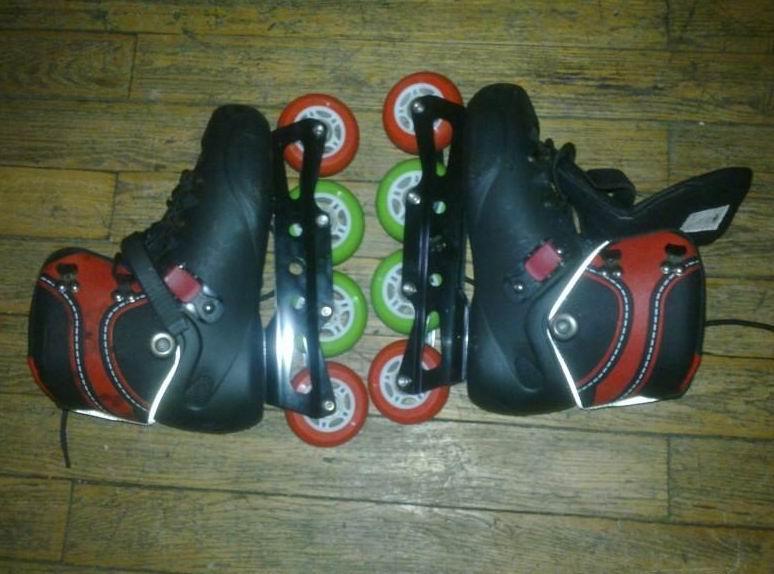 转让新旱冰鞋