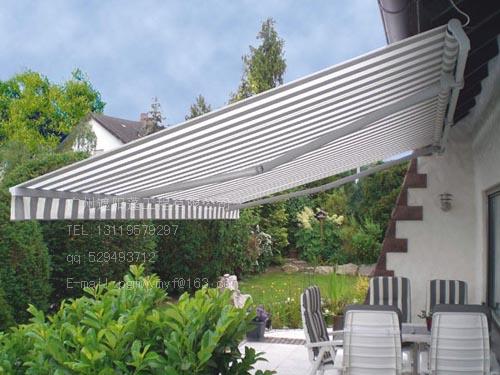 欧式咖啡厅铝合金雨棚图片
