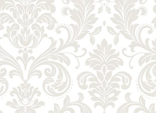 欧式银灰色墙纸效果图