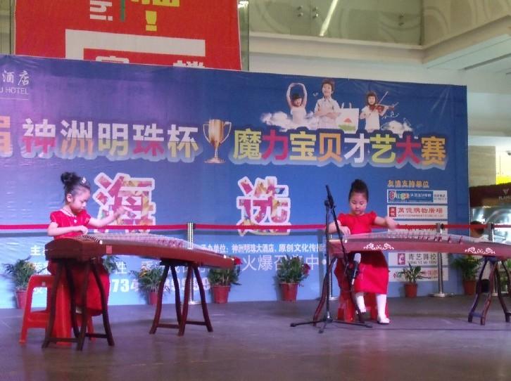 乐之林古筝吉他培训长期招生
