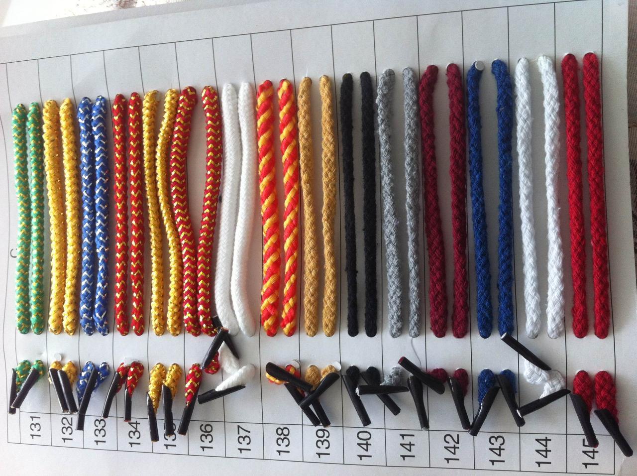 七彩织带,美丽传承;各种包装盒手提绳销售;