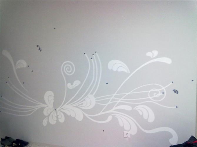 室内手绘墙-(白城)