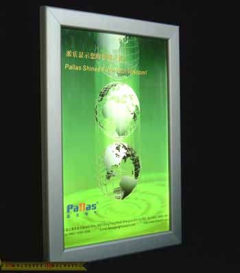 西安灯箱厂低价批发各种超薄灯箱 电子灯箱 显示屏