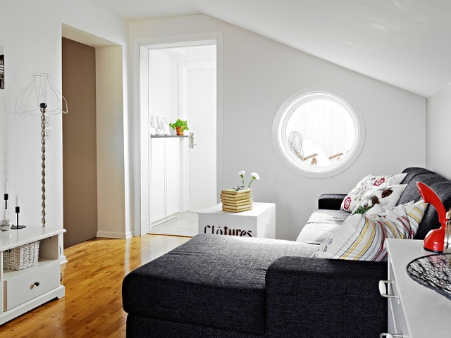 69平米白色雅致的公寓