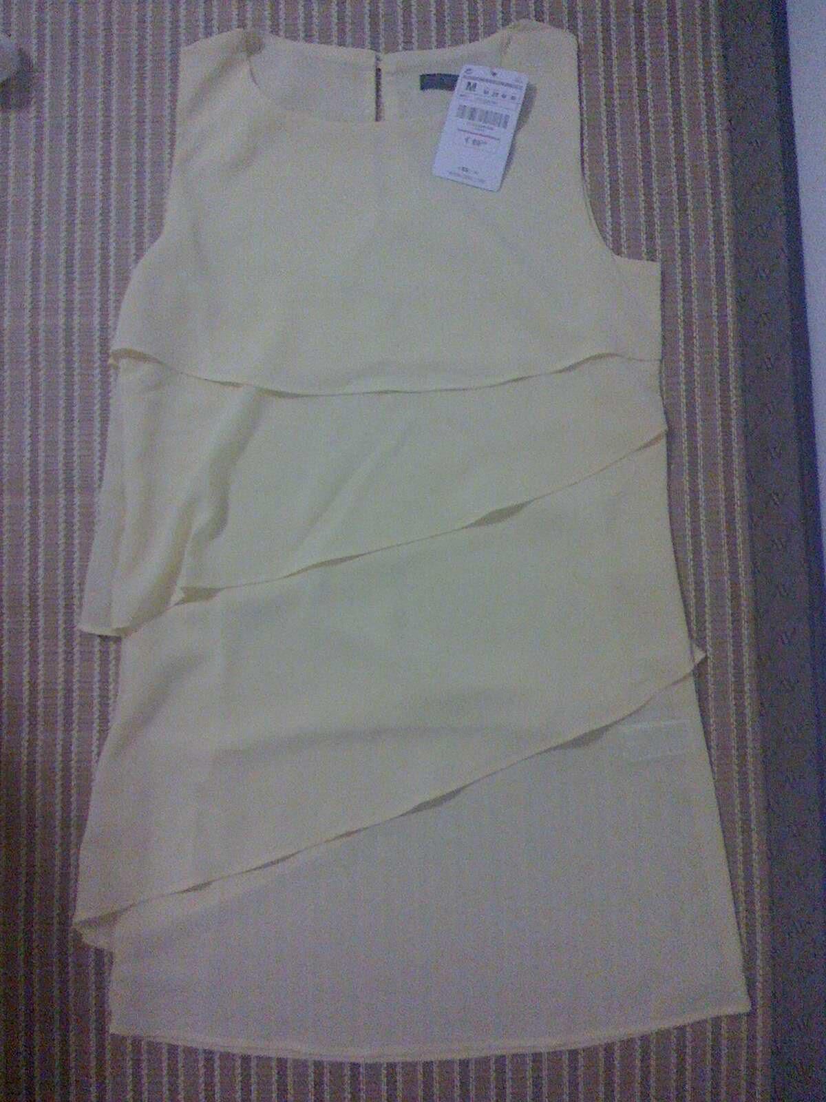 全新纯色无袖修身糖果蛋糕连衣裙