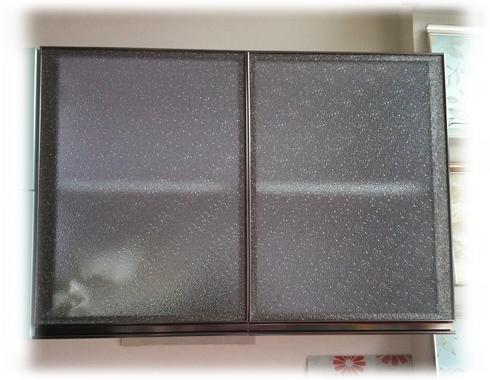 橱柜门 钻石玻璃