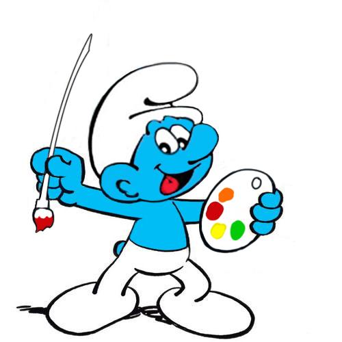 蓝精灵儿童创意美术暑期班正在招生。。。