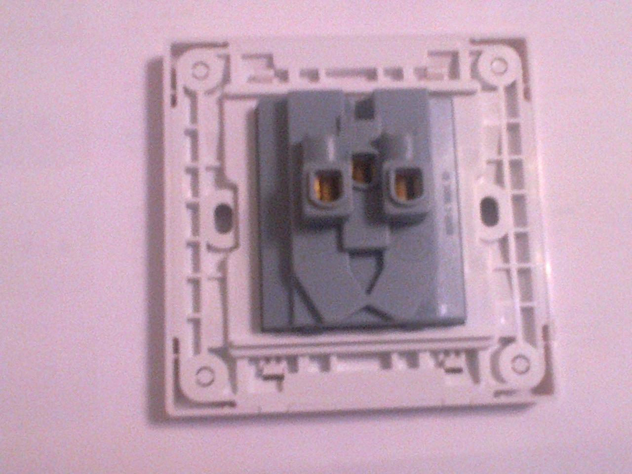 明装电视插座接线图-西蒙有线电视插座接线