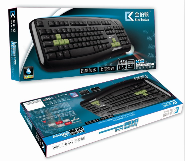 金伯頓K8單鍵盤
