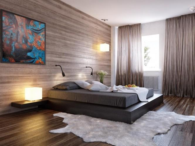 现代卧室设计效果图_家居街_六合在线