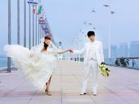 婚纱室外图