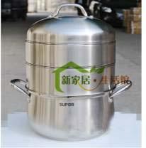 苏泊尔 原味不锈钢双层蒸锅