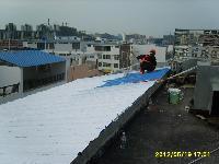 餐厅顶层隔热防水施工