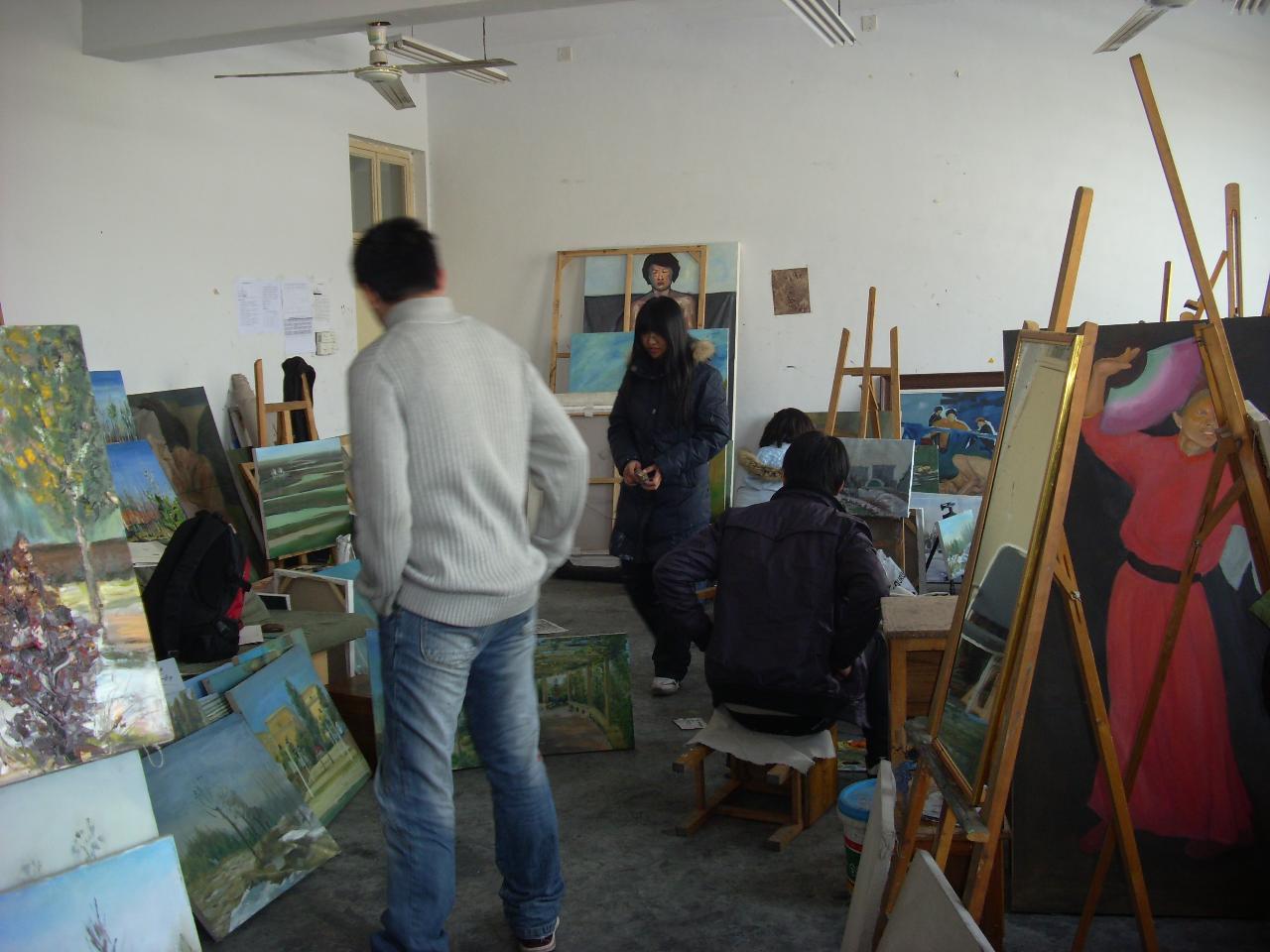 光山中央美术学院五画室