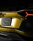 超炫金色Aventador