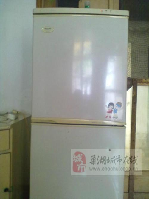 双门冰箱低价转让300(图片)