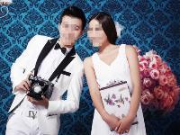 室内婚纱照